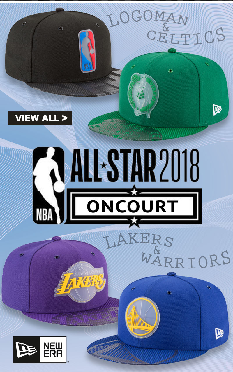 NBA Oncourt All-Star Fitted Hats by New Era