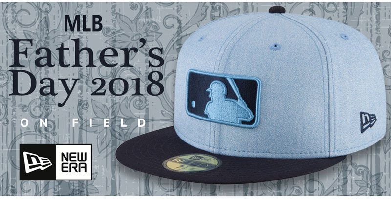 2018 MLB Father's Day Hats by New Era