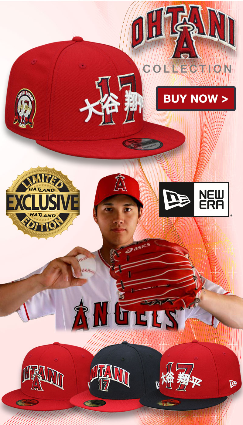 Angels Ohtani Exclusive Hat Collection at Hatland.com