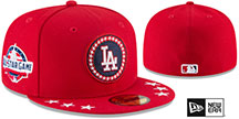 Dodgers '2018 MLB ALL-STAR WORKOUT' Fitted Hat by New Era