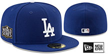 Dodgers 2020 WORLD SERIES GAME Fitted Hat by New Era