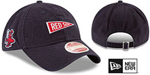 Red Sox 'VINTAGE PENNANT STRAPBACK' Navy Hat by New Era