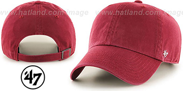 47 BLANK CLASSIC STRAPBACK Burgundy Adjustable Hat