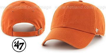 47 BLANK CLASSIC STRAPBACK Burnt Orange Adjustable Hat