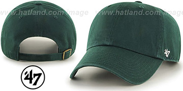 47 BLANK CLASSIC STRAPBACK Dark Green Adjustable Hat