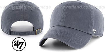 47 BLANK CLASSIC STRAPBACK Light Navy Adjustable Hat