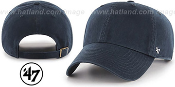 47 'BLANK CLASSIC STRAPBACK' Navy Adjustable Hat