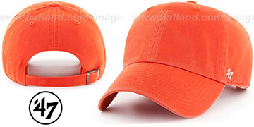 47 BLANK CLASSIC STRAPBACK Orange Adjustable Hat