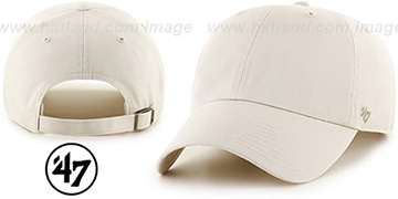 47 BLANK CLASSIC STRAPBACK Stone Adjustable Hat