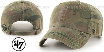 47 'BLANK CLASSIC STRAPBACK' Woodland Adjustable Hat