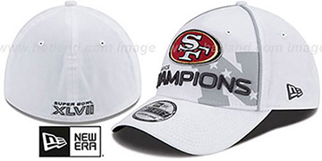 49ers 2012 NFC 'CONFERENCE CHAMPS'Flex Hat by New Era