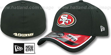 49ers '2014 NFL STADIUM FLEX' Black Hat by New Era