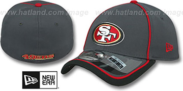 49ers 2014 NFL STADIUM FLEX Grey Hat by New Era
