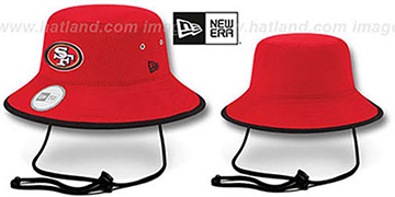 49ers '2014 NFL TRAINING BUCKET' Red Hat by New Era