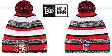 49ers '2014 STADIUM' Knit Beanie Hat by New Era