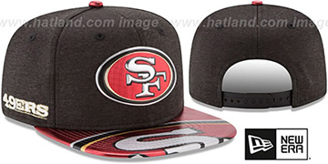 49ers '2017 NFL ONSTAGE SNAPBACK' Hat by New Era