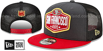 49ers 2021 NFL TRUCKER DRAFT SNAPBACK Hat by New Era