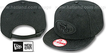 49ers 'MELTON STINGER STRAPBACK' Hat by New Era