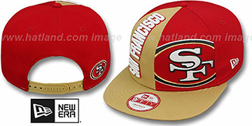 49ers 'NE-NC DOUBLE COVERAGE SNAPBACK' Hat by New Era