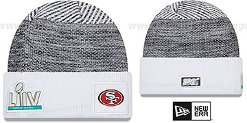 49ers NFL SUPER BOWL LIV  Knit Beanie Hat by New Era