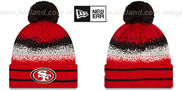 49ers SPEC-BLEND Knit Beanie Hat by New Era