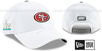 49ers SUPER BOWL LIV Stretch Snapback Hat by New Era