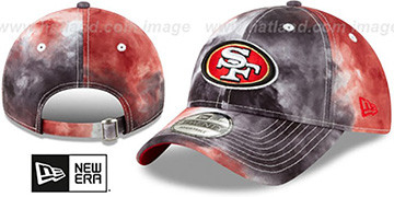 49ers TIE-DYE STRAPBACK Hat by New Era
