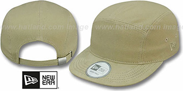 5-Panel 'CAMPER' Khaki Hat by New Era