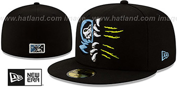 66ers COPA Black Fitted Hat by New Era