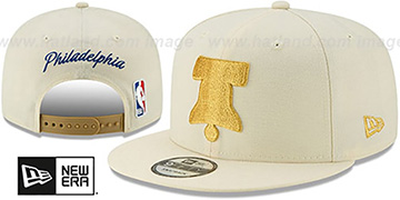76ers 19-20 CITY-SERIES ALTERNATE SNAPBACK Cream Hat by New Era