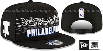 76ers 20-21 CITY-SERIES SNAPBACK Black Hat by New Era