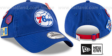 76ers 2018 NBA DRAFT STRAPBACK Royal Hat by New Era