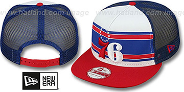76ers 'BAND-SLAP SNAPBACK' Hat by New Era