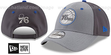76ers 'THE-LEAGUE GREY-POP STRAPBACK' Hat by New Era
