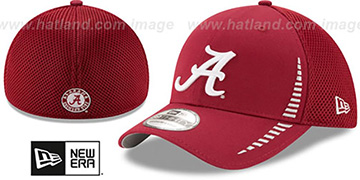 Alabama 'NEO SPEED MESH-BACK' Burgundy Flex Hat by New Era