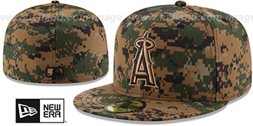 Angels 2016 MEMORIAL DAY 'STARS N STRIPES' Hat by New Era