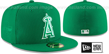 Angels '2016 ST PATRICKS DAY' Hat by New Era