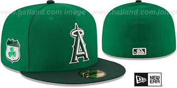 Angels '2017 ST PATRICKS DAY' Hat by New Era