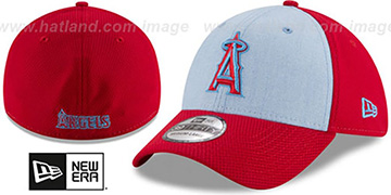 Angels 2018 FATHERS DAY FLEX Sky-Red Hat by New Era