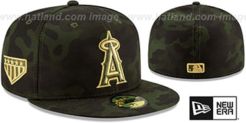 Angels 2019 ARMED FORCES 'STARS N STRIPES' Hat by New Era