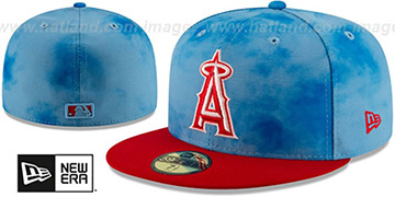 Angels 2019 FATHERS DAY Fitted Hat by New Era