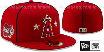 Angels 2019 MLB ALL-STAR GAME Fitted Hat by New Era
