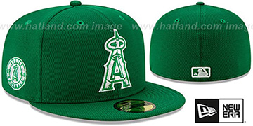 Angels 2020 'ST PATRICKS DAY' Fitted Hat by New Era