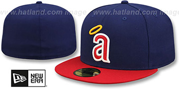 Angels CAREW Fitted Hat by New Era