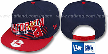 Angels COOP 'STILL ANGLIN SNAPBACK' Navy-Red Hat by New Era