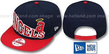Angels COOP STOKED SNAPBACK Navy-Red Hat by New Era