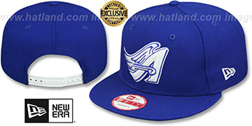Angels COOP TEAM-BASIC SNAPBACK Royal-White Hat by New Era