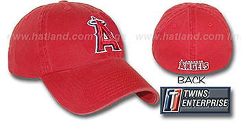 Angels 'FRANCHISE' Hat by Twins - red
