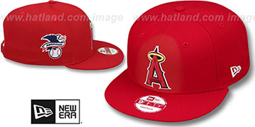 Angels 'LEAGUE REPLICA GAME SNAPBACK' Hat by New Era