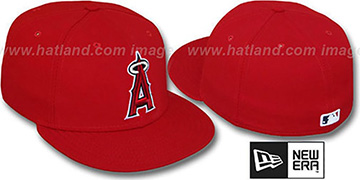 Angels 'PERFORMANCE GAME' Hat by New Era